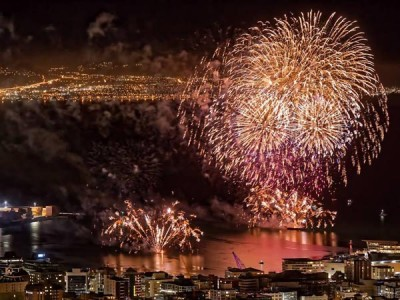 Wellington City Council Fireworks Display